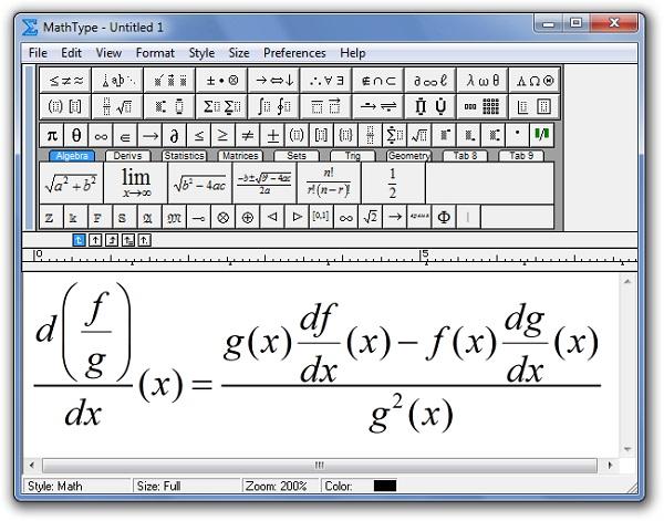 Mathtype 7.1
