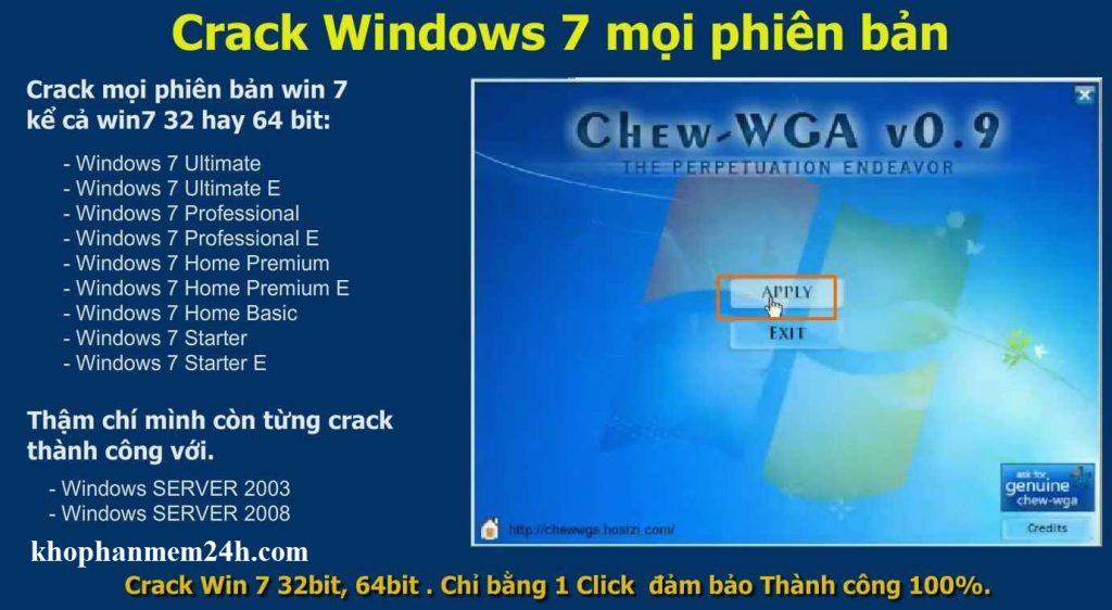 crack win 7