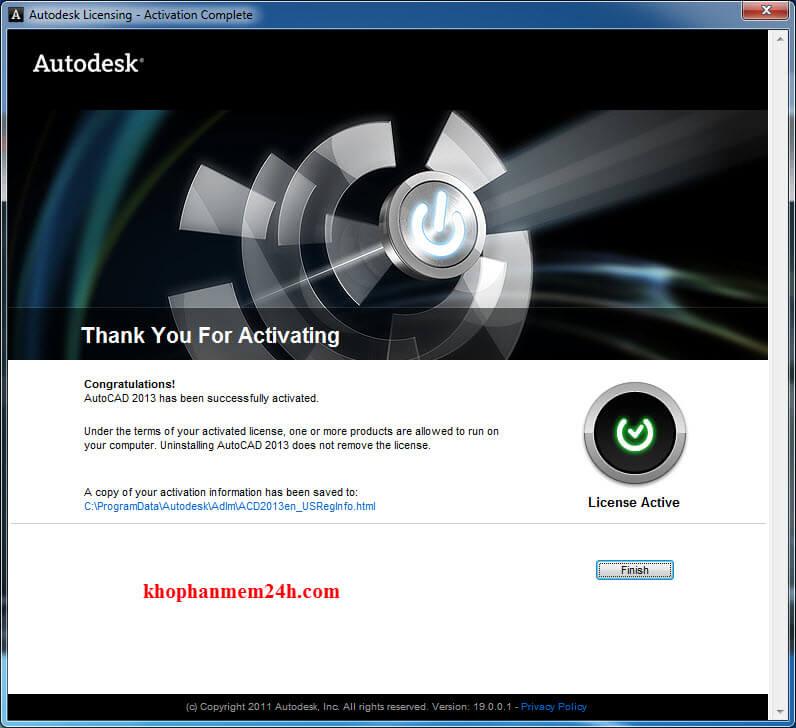 autocad 2013 full crack 64bit