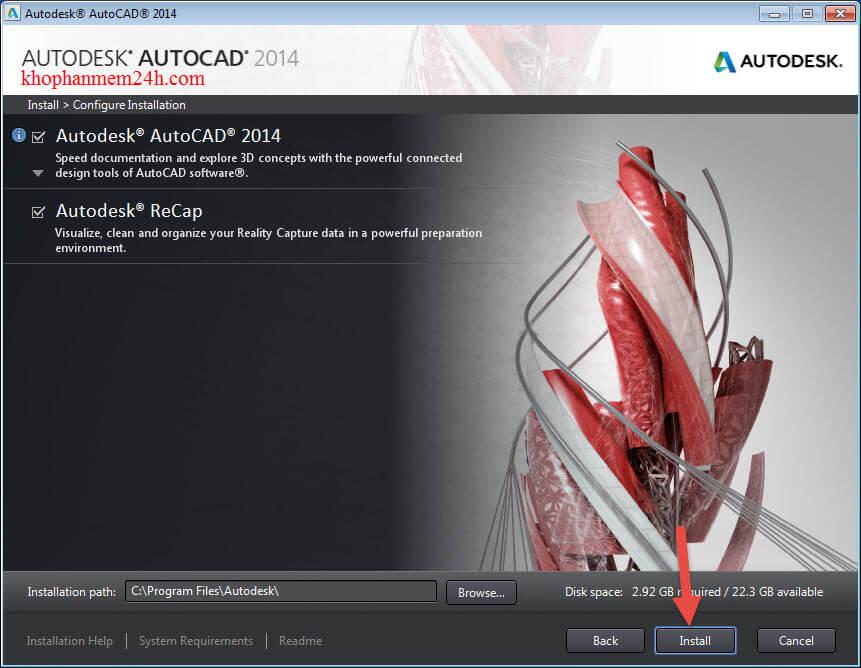 download autocad 2014 full crack