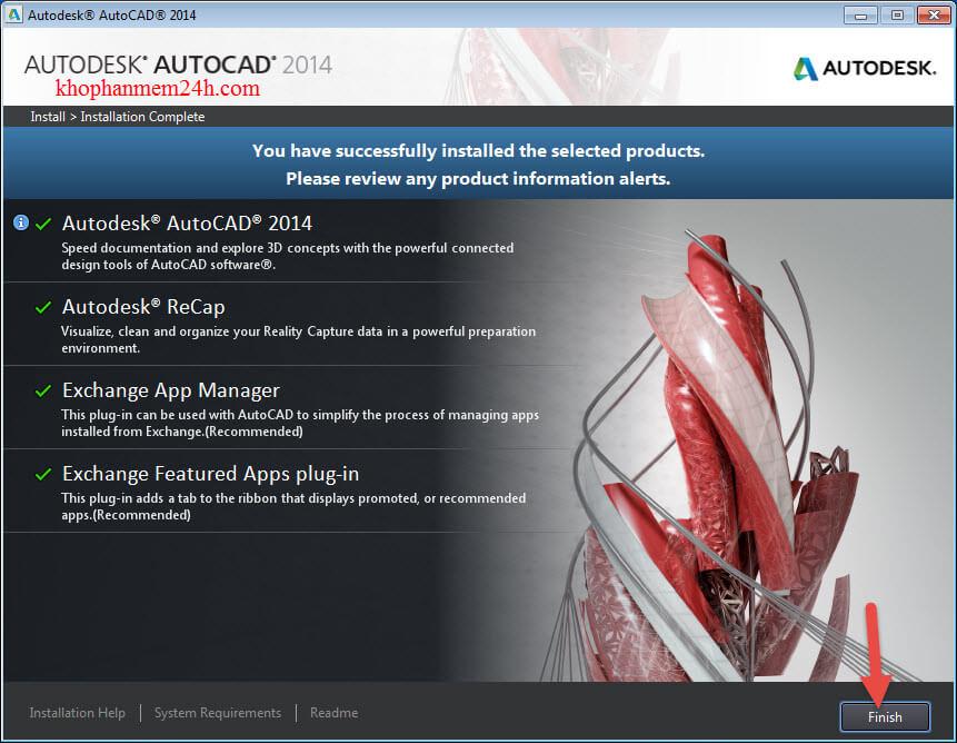 autocad 2014 64bit full crack