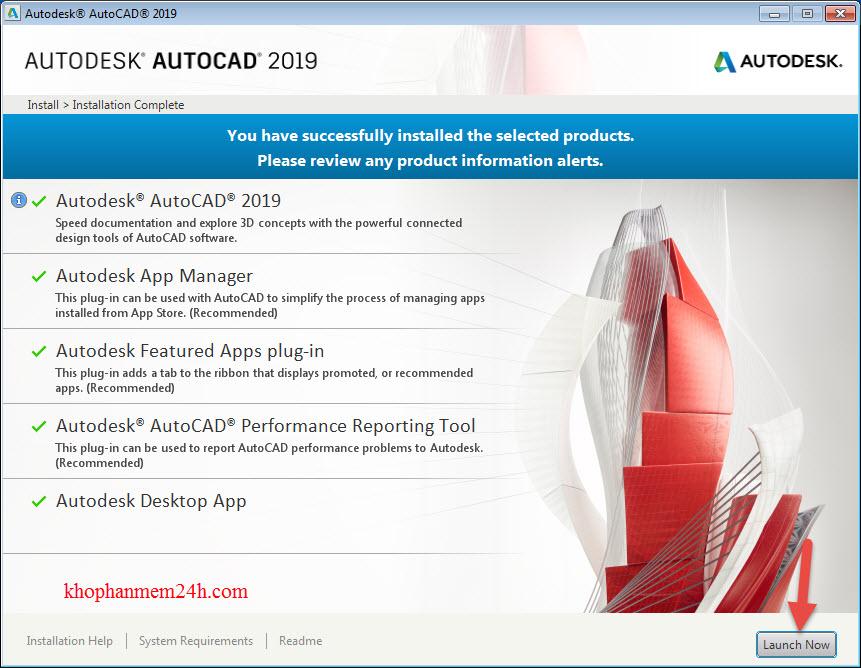 key autocad 2019