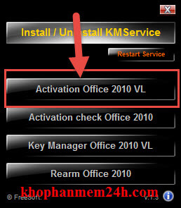product key office 2010
