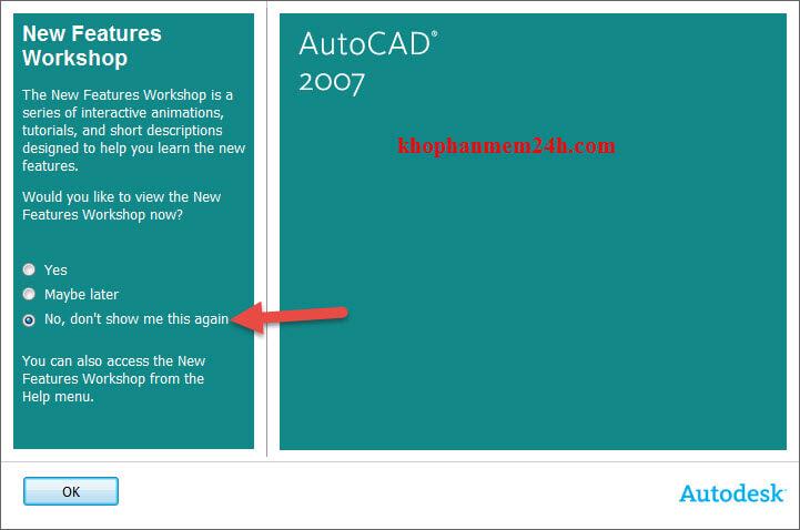cách cài autocad 2007