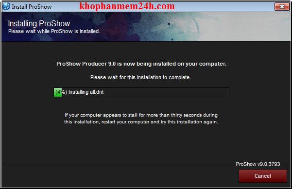 hướng dẫn crack proshow producer 9