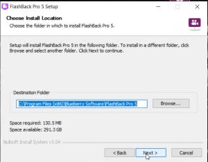 Các bước cài đặt BB FlashBack Pro 5 Full Crack