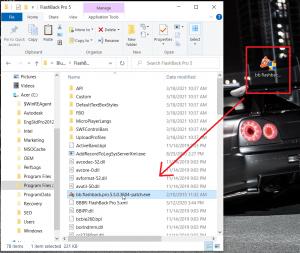 Copy file patch và dán vào file cài đặt của phần mềm