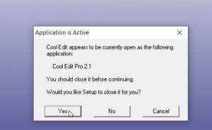 """Mở file set up .exe để cài đặt, tiếp tục nhấn """"Yes"""""""
