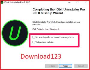 Quá trình cài đặt iobit uninstaller 8 pro key