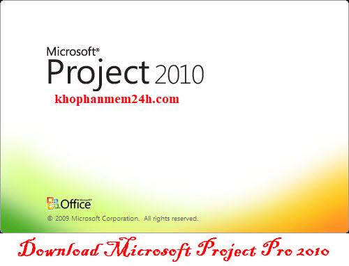 Mirosoft Project 2010