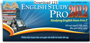 Giao diện của english study pro 2017 full crack