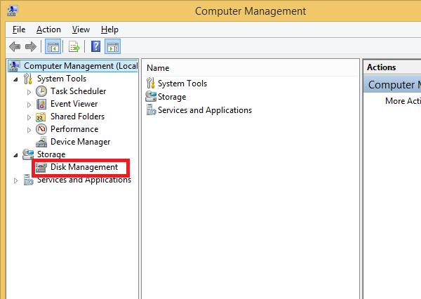 Kiểm tra chuẩn ổ cứng bằng Disk management để biết là MBR hay GPT