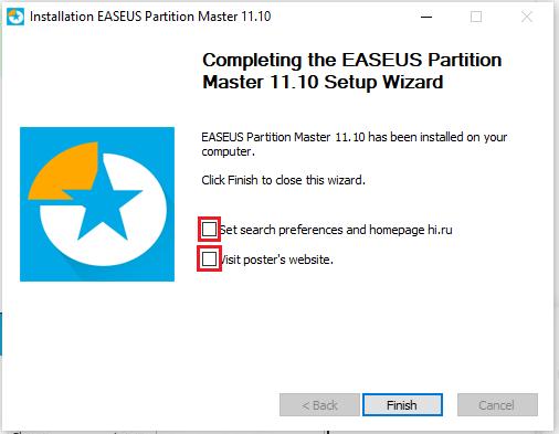 cài easeus partition master 11 hình 2