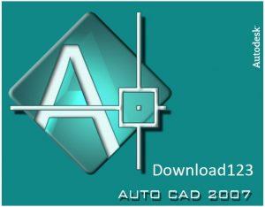 Giao diện của Autocad 2007