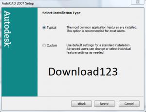Quá trình download autocad 2007 và cài đặt