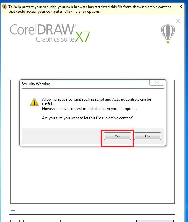 Quá trình download coreldraw x7 full crack và cài đặt