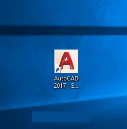 Sau khi khởi động lại bạn mở AutoCAD lên