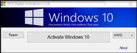 Digital license windows 10