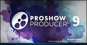 Giao diên của Proshow Producer 9 Full Crack