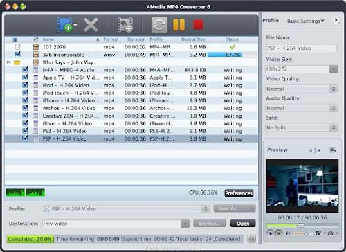 4Media MPEG to DVD Converter