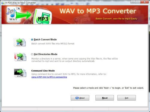 A PDF Wav to MP3