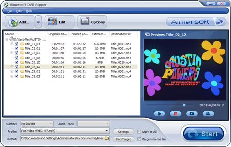 Aimersoft DVD Ripper 2.4.1