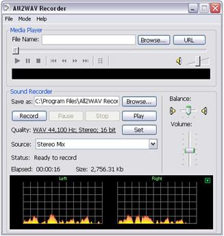 All2WAV Recorder 3.2