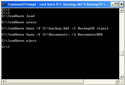 CommandBurner 3.5