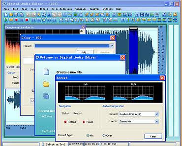 Digital Audio Editor 7.4