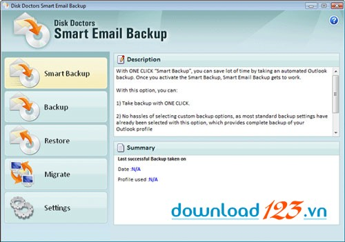 Disk Doctors Smart E-mail Backup