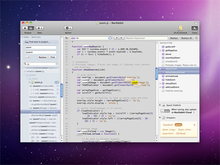 Espresso 1.1 for Mac OS X