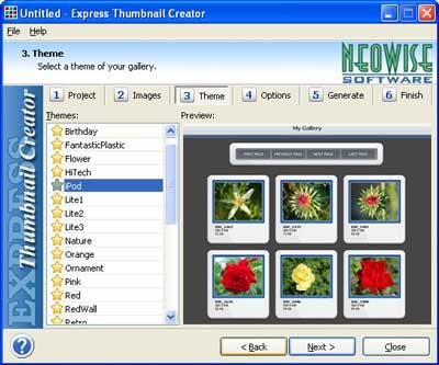 Express Thumbnail Creator