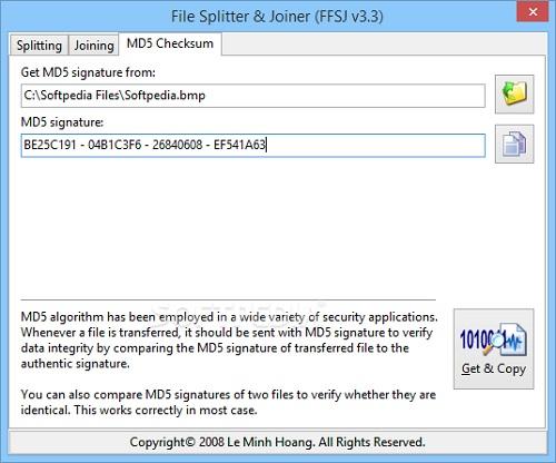 fastest file splitter and joiner