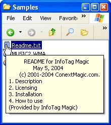 InfoTag Magic 1.0