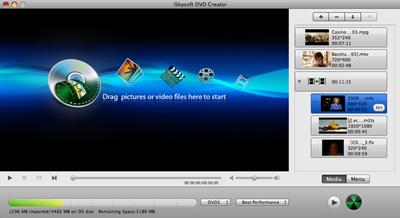 iSkysoft DVD Creator for Mac 3.0