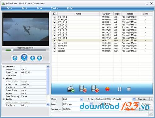 Joboshare iPod Video Converter