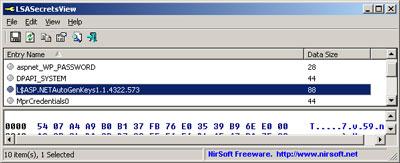 LSASecretsView 1.20