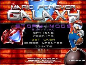 Game Mario Forever Galaxy
