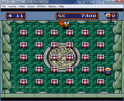 Mega Bomberman - Sega Genesis/Megadrive