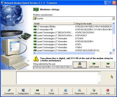 Network Modem Speed version 2.1.3