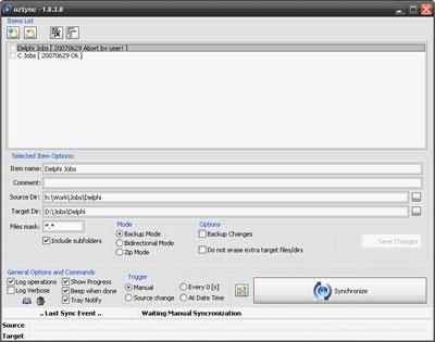 OzSync 2.1.1