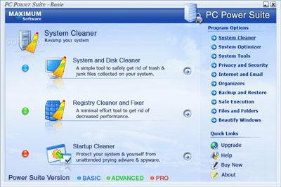 Maximum Software PC Power Suite