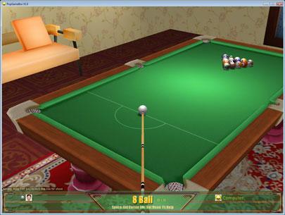 PopGameBox online 3d pool 2.3