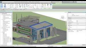 Giao diện Revit 2017