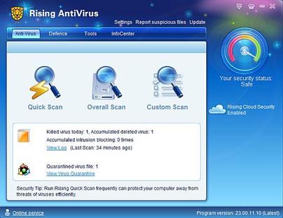 Rising Antivirus 2010