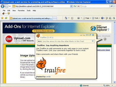 Trailfire Toolbar 1.5