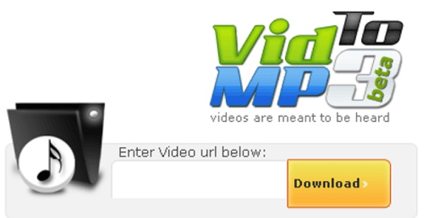 Phần mềm VidToMP3