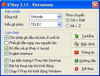 Phần mềm vtkey3.12