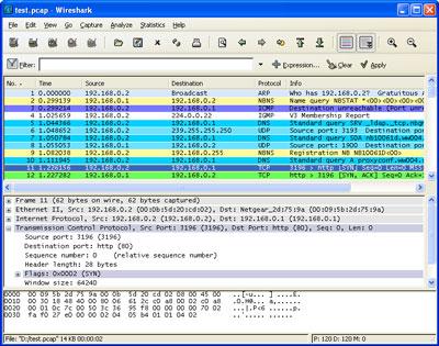 Wireshark 1.4.2