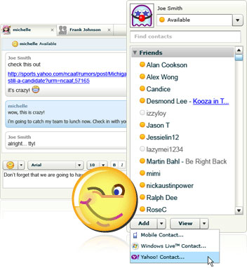 Yahoo Messenger for the Web